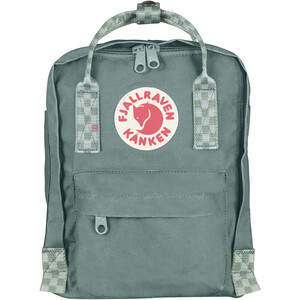 Fjällräven Kånken Mini Rucksack Kinder frost green/chess pattern frost green/chess pattern