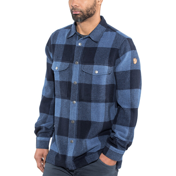 Fjällräven Canada Shirt Herren uncle blue