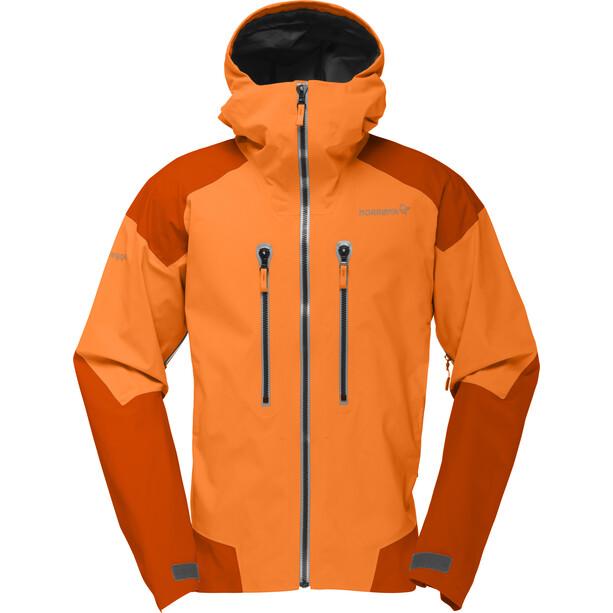 Norrøna Trollveggen Gore-Tex Pro Jacket Herr Pure Orange