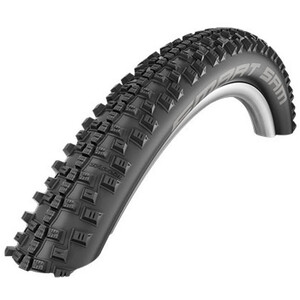 "SCHWALBE Smart Sam Wired-on Tire 26"" Addix Plus Performance SnakeSkin Greeng black black"