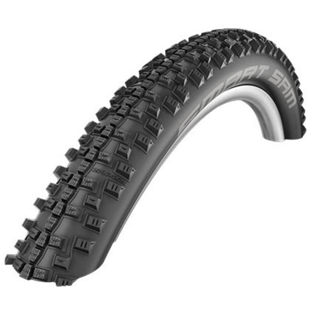 "SCHWALBE Smart Sam Wired-on Tire 26"" Addix Plus Performance SnakeSkin Greeng black"