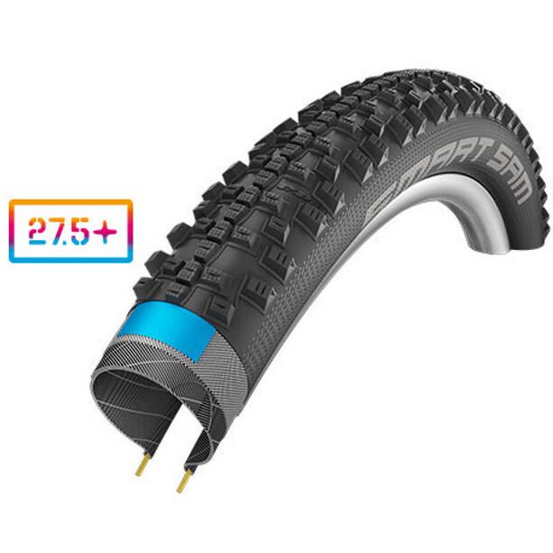 "SCHWALBE Smart Sam Folding Tyre 27,5"" Addix Performance DD SnakeSkin black"