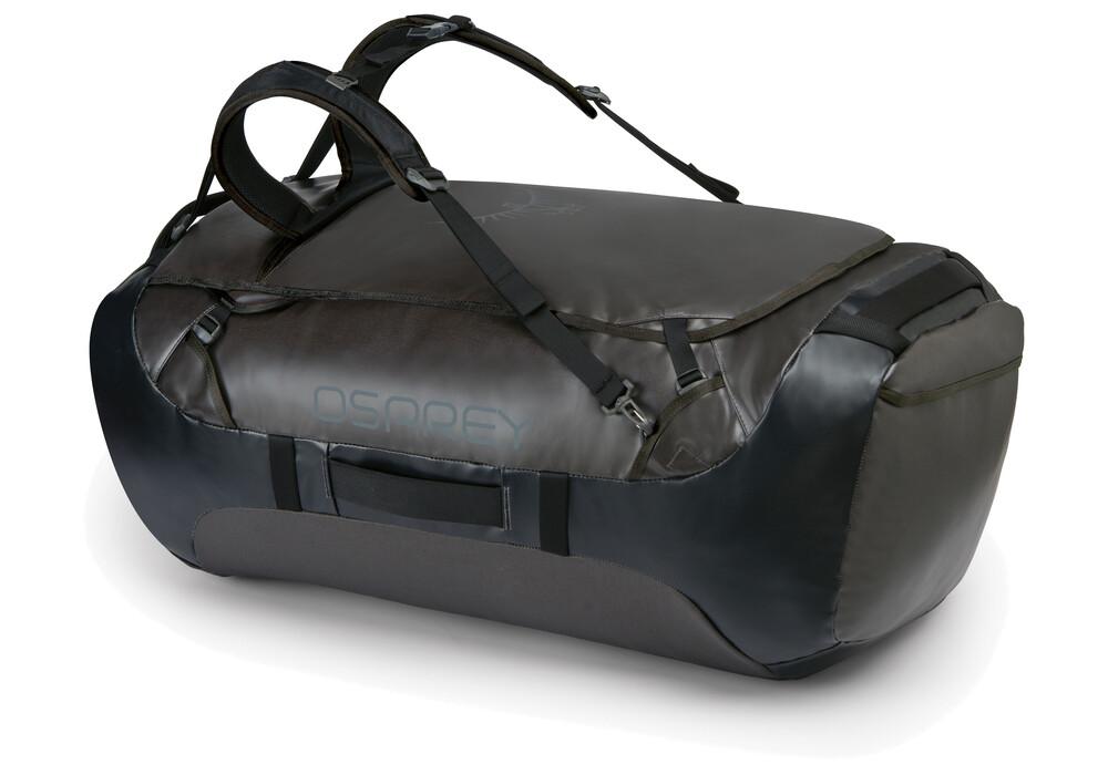 osprey transporter 130 duffel bag black g nstig kaufen. Black Bedroom Furniture Sets. Home Design Ideas