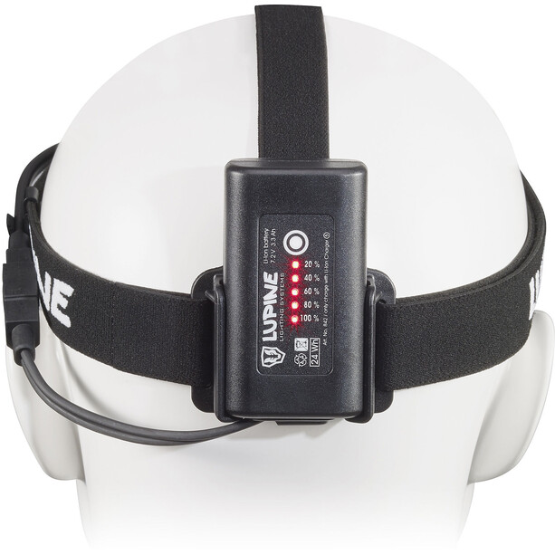 Lupine Neo X 4 Stirnlampe 900 lm SmartCore FastClick