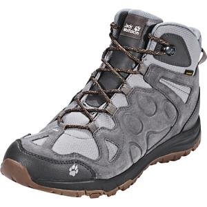 Jack Wolfskin Rocksand Texapore Mid-Cut Schuhe Herren grau grau