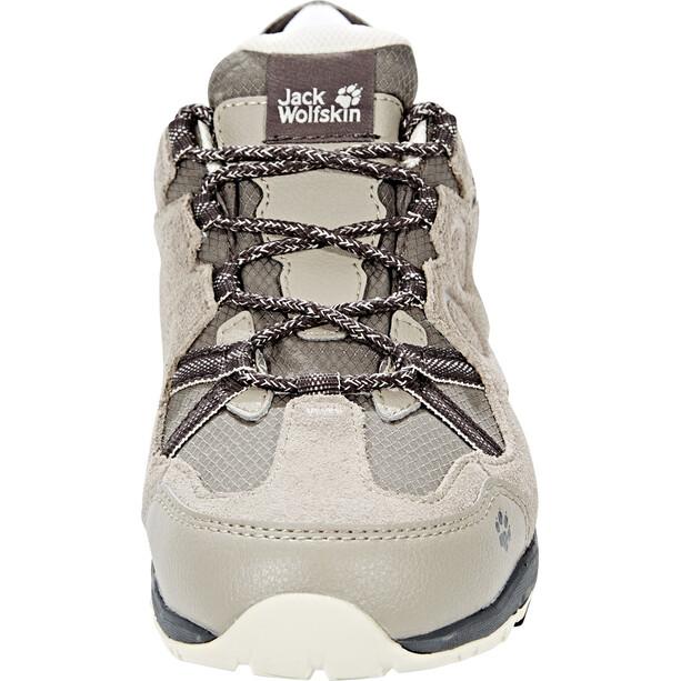 Jack Wolfskin Rocksand Texapore Low-Cut Schuhe Damen siltstone