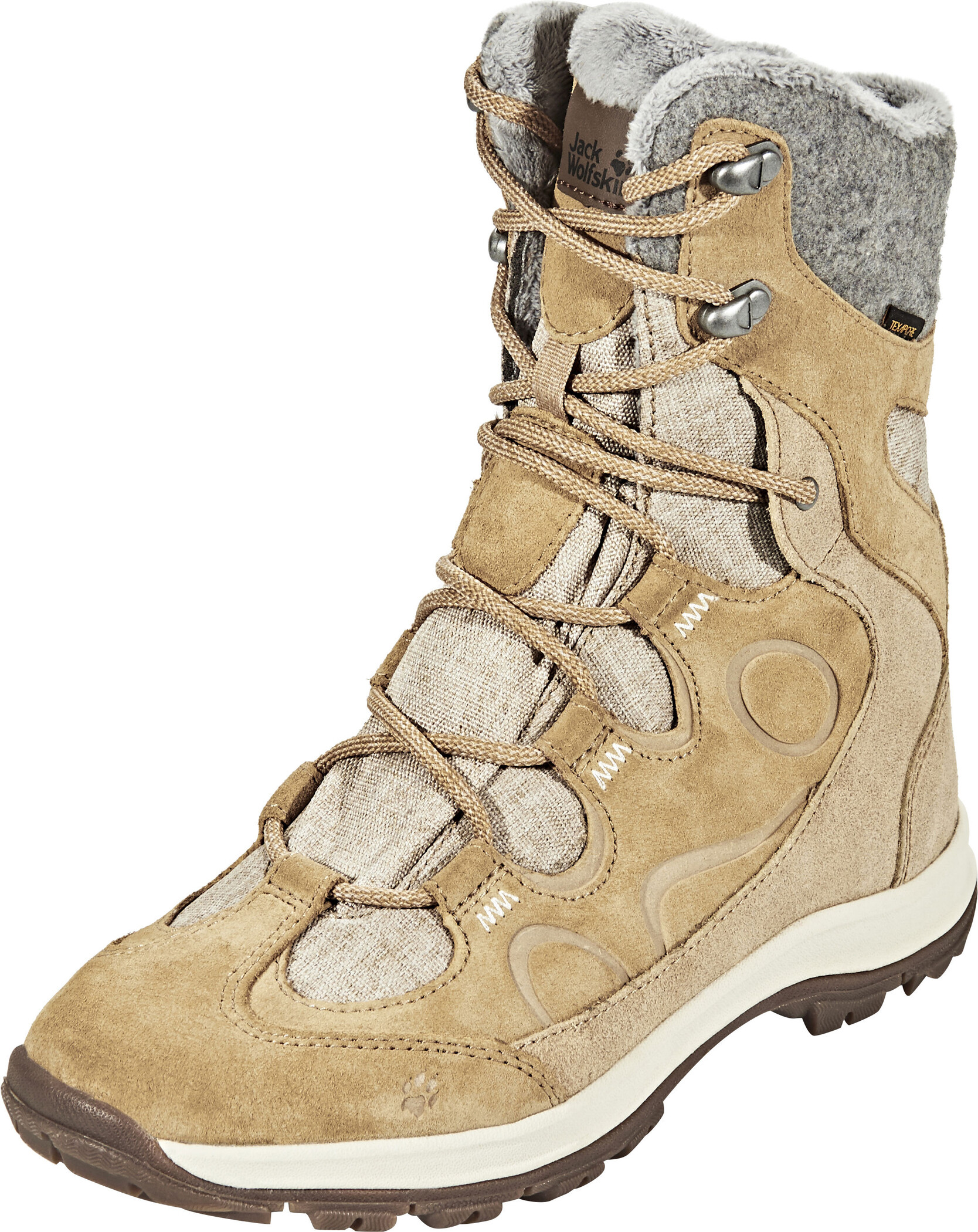 pretty nice d61c1 554e9 Jack Wolfskin Thunder Bay Texapore High Shoes Women sandstone .jpg