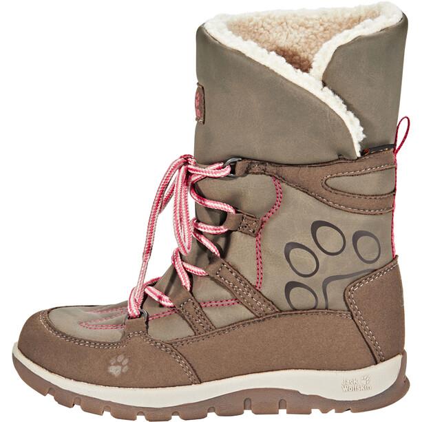 Jack Wolfskin Rhode Island Texapore High-Cut Winter Stiefel Mädchen siltstone