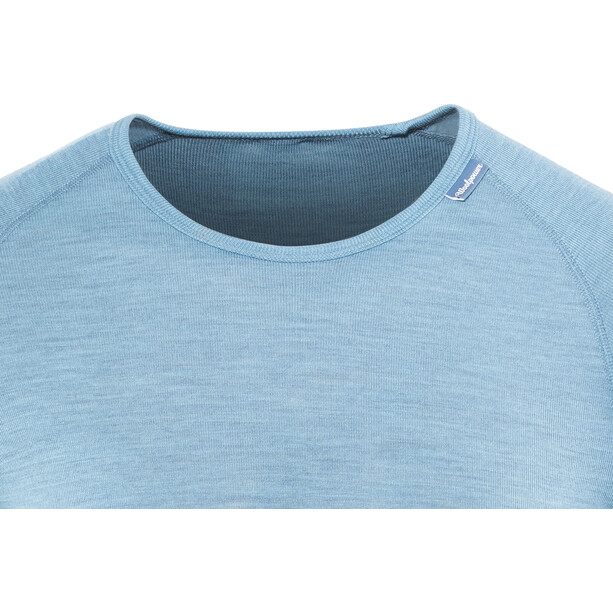 Woolpower Lite Rundhalsshirt Herren nordic blue