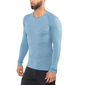 Woolpower Lite Rundhalsshirt Herren nordic blue nordic blue