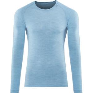 Woolpower Lite Rundhalsshirt blau blau
