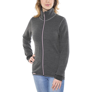 Woolpower 400 Colour Collection Full-Zip Jacke grey/rose grey/rose