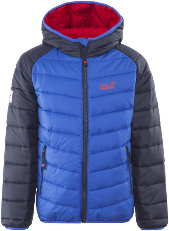 Jack Wolfskin Zenon Jacket Kids coastal blue Winterjacken 1604142-1201140