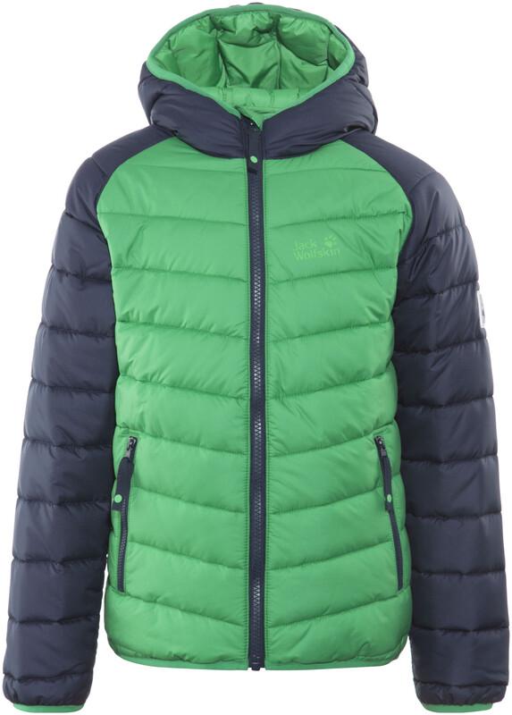 Jack Wolfskin Zenon Jacket Kids forest green Winterjacken 140 1604142-4082140