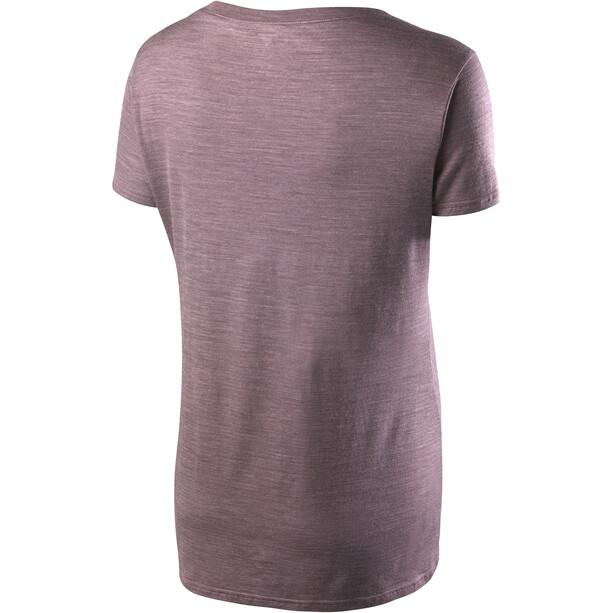 Houdini Activist Message T-Shirt Damen dusk purple