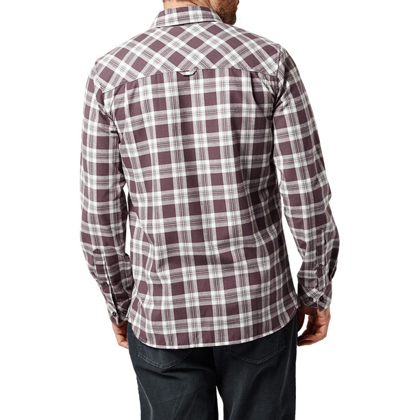 Craghoppers Andreas Langarmhemd Herren Red Wine Combo Checkered