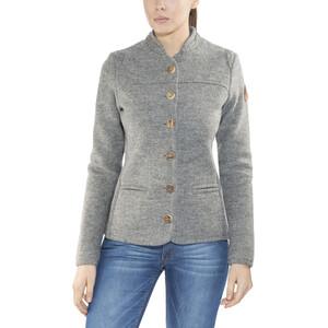 Maloja AllegriaM. Alpine Wool Jacke Damen grey melange grey melange