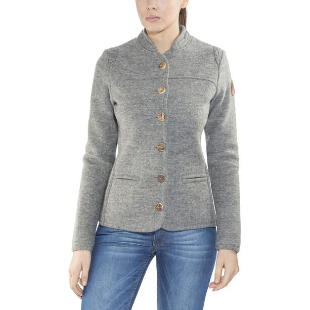 Maloja AllegriaM. Alpine Wool Jacket Takki Naiset, harmaa