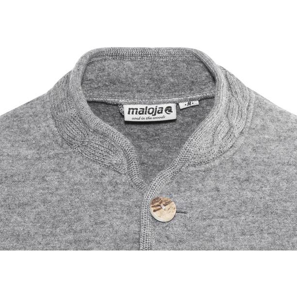 Maloja MilaunM. Alpine Wool Jacket Takki Miehet, grey melange