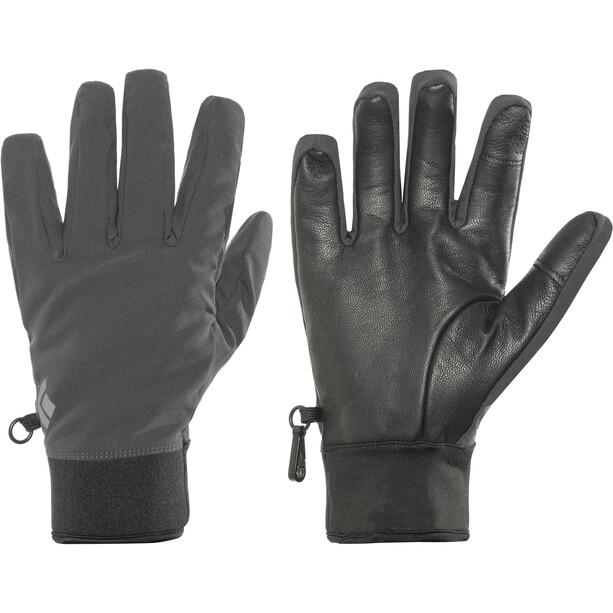 Black Diamond Midweight Softshell Handschuhe smoke