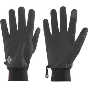 Black Diamond Lightweight Softshell Handschuhe schwarz schwarz