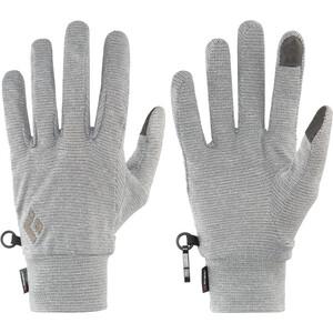 Black Diamond Lightweight Wooltech Handschuhe slate slate