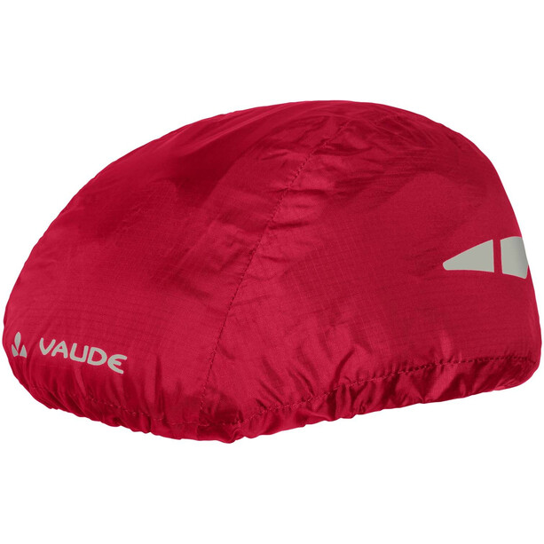 VAUDE Helm Regenüberzug indian red