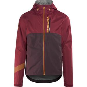 Endura Singletrack II Jacket Herr claret claret