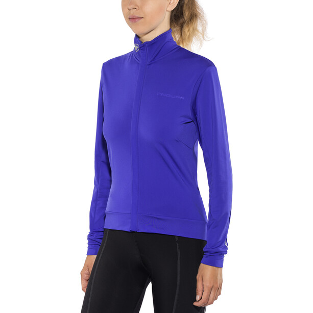 Endura Xtract Roubaix Langarm Trikot Damen blau