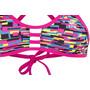 TYR Drift Pacific Tieback Bikini Top Damen blue/pink