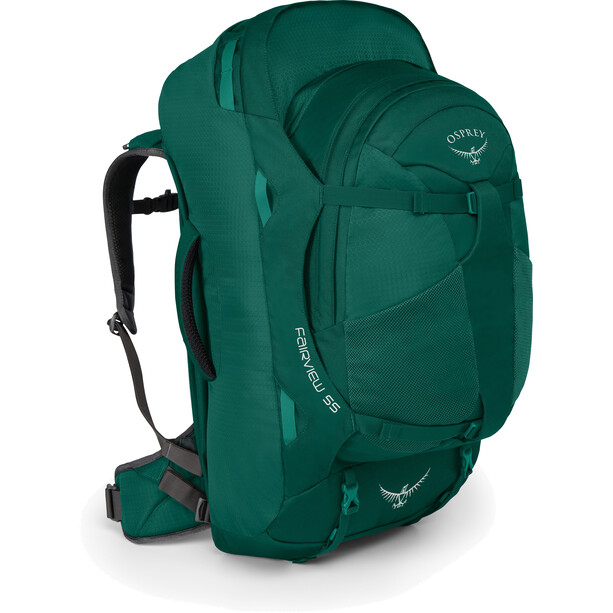 Osprey Fairview 55 Backpack Dam Rainforest Green