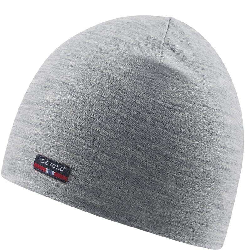 Devold Breeze Cap grey melange 2019 58cm Mössor