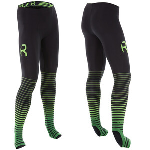 2XU Power Recharge Recovery Tights Herren black/green black/green