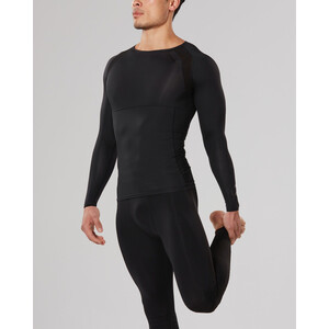 2XU Refresh Recovery Compression Langarm Shirt Herren black/nero black/nero