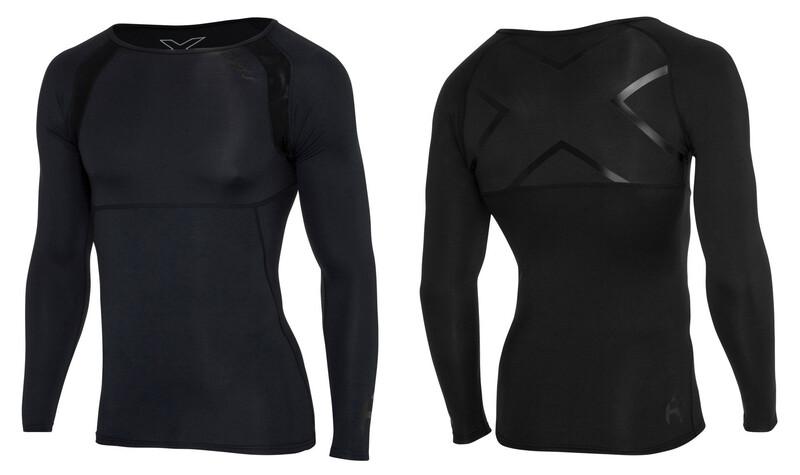 2XU Refresh Recovery Compression Langermet skjorte Herre Svart L 2021 Løpeundertrøyer