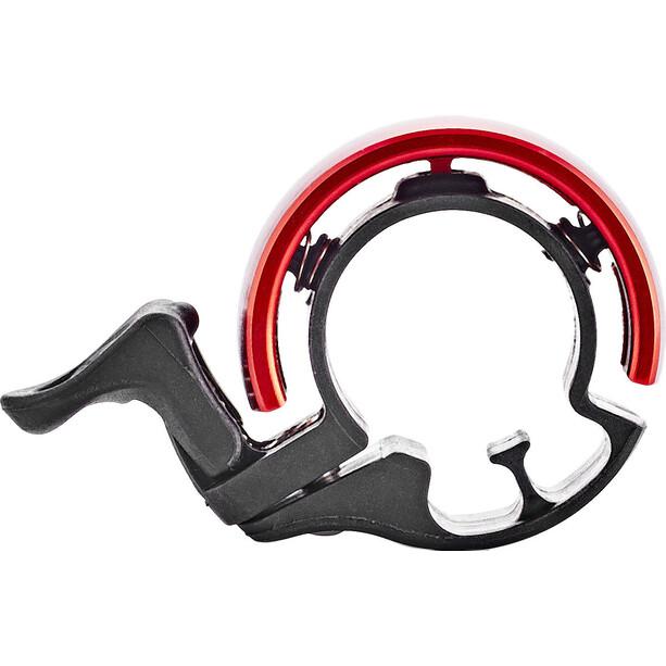 Knog Oi Classic Fahrradklingel schwarz/rot