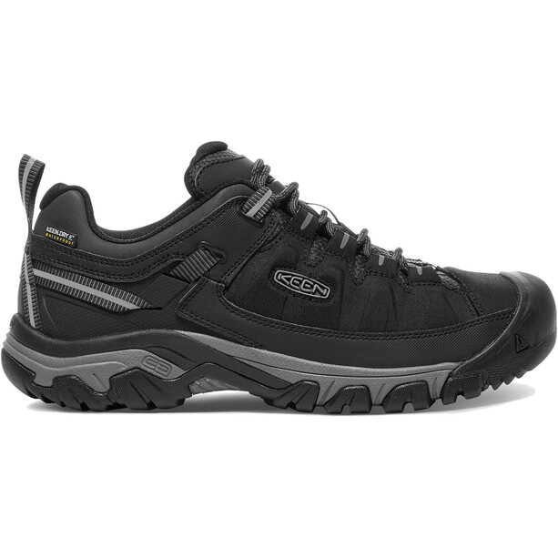 Keen Targhee Exp WP Shoes Herr black/steel grey