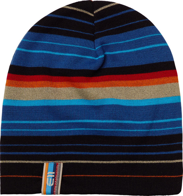Elevenate Striped Beanie Black  2017 Luer