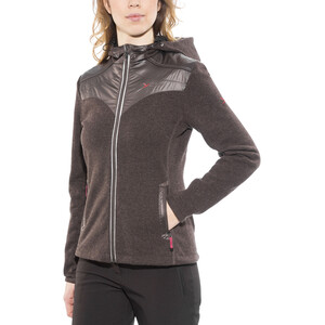 Yeti Casey Tecnowool Jacke Damen deep brown deep brown