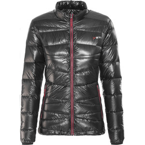 Y by Nordisk Cirrus Ultralight Daunenjacke Damen black/ribbon red black/ribbon red