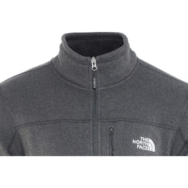 The North Face Gordon Lyons 1/4 Zip Fleece Sweatshirt Herren tnf black heather