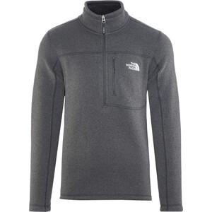 The North Face Gordon Lyons 1/4 Zip Fleece Sweatshirt Herren tnf black heather tnf black heather