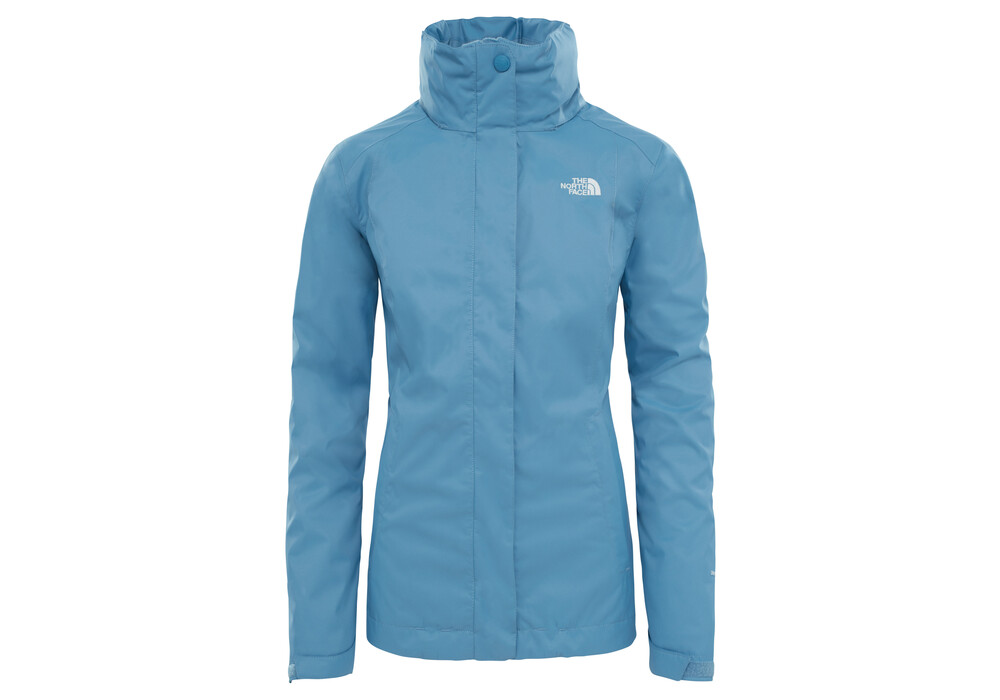 the north face evolve ii triclimate jacket women blue at. Black Bedroom Furniture Sets. Home Design Ideas