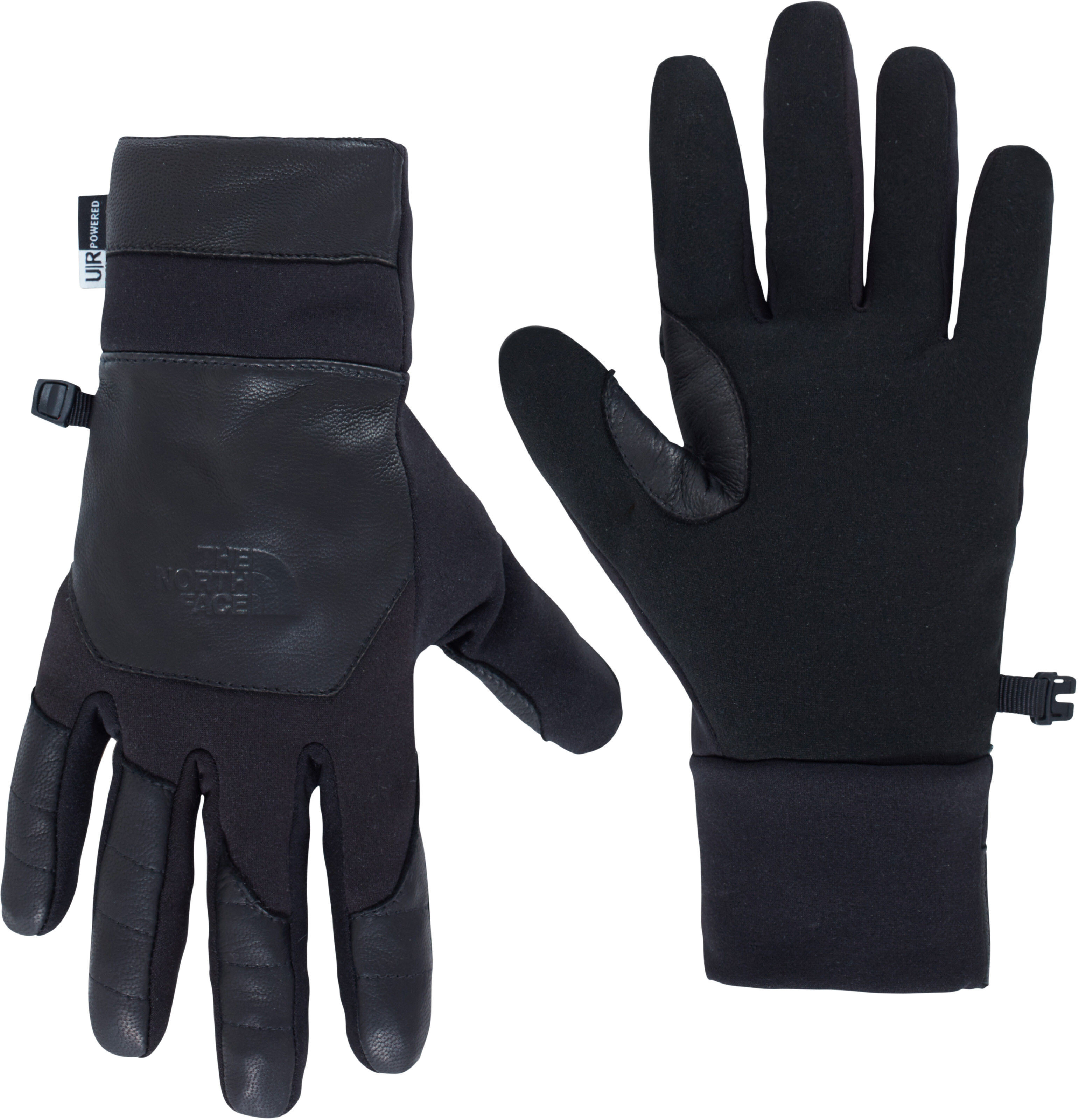 the north face etip leather gants homme noir sur. Black Bedroom Furniture Sets. Home Design Ideas