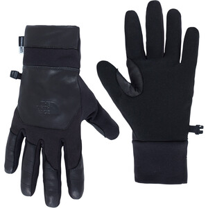 The North Face Etip Leather Handschuhe Herren black black