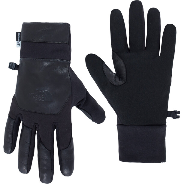 The North Face Etip Leather Handschuhe Herren black