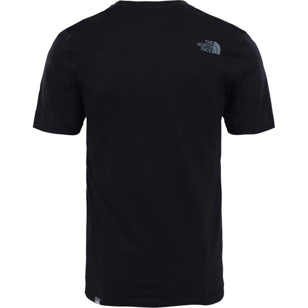 The North Face Easy Kurzarm T-Shirt Herren tnf black