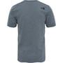The North Face Easy Kurzarm T-Shirt Herren tnf medium grey heather