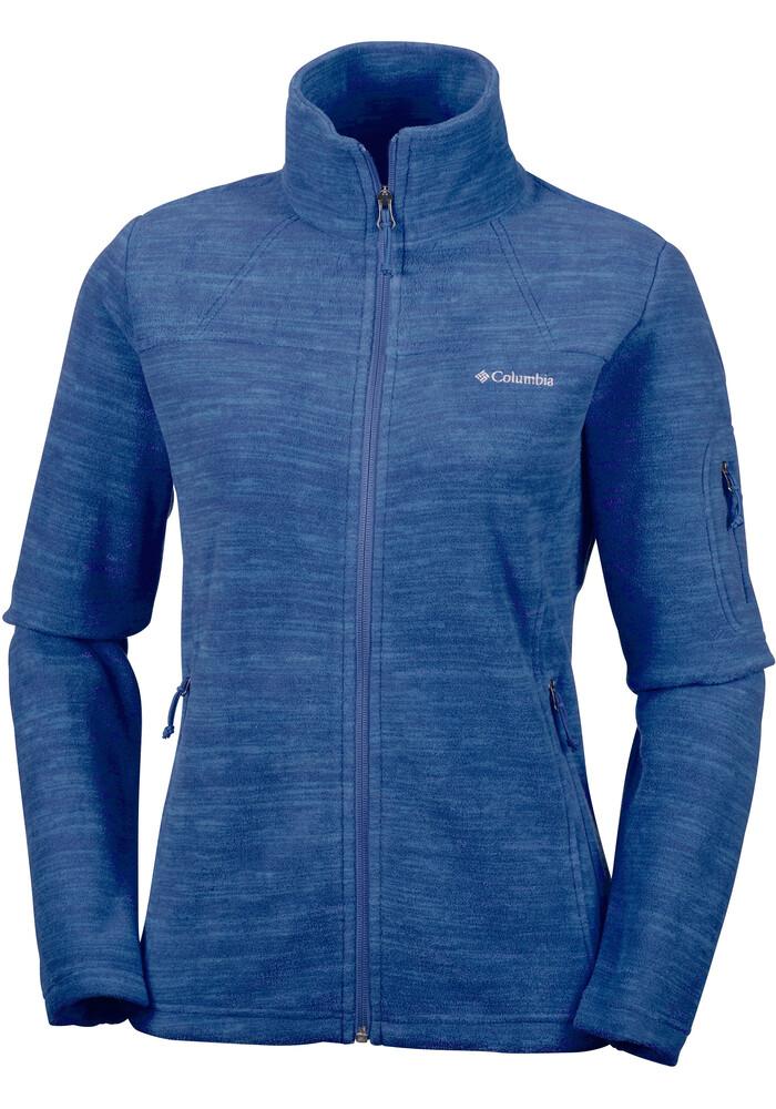 Columbia Fast Trek Jacket Women Blue At Addnature.co.uk