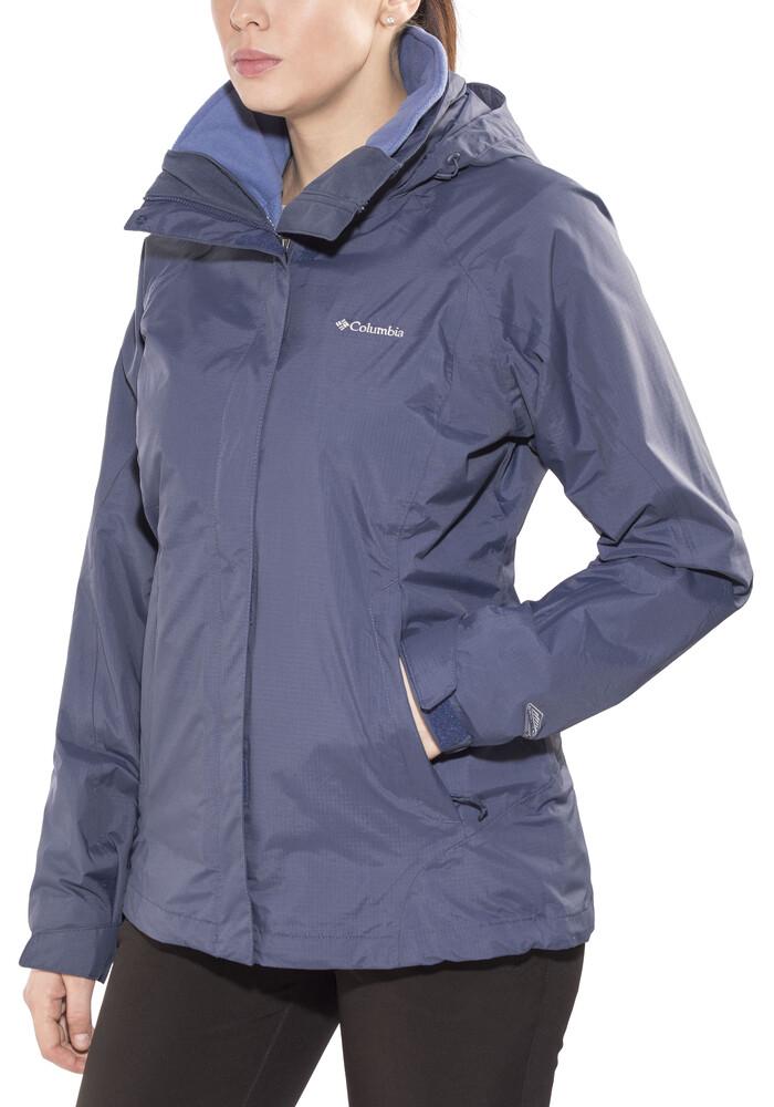 Columbia Venture On Jacket Women Blue At Addnature.co.uk